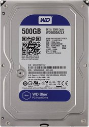 Жесткий диск  Western Digital Blue 500GB WD5000AZLX 3.5 SATAIII
