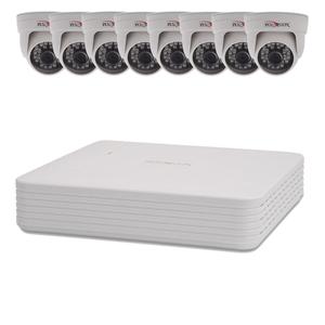 Комплект видеонаблюдения 8 внутренних камер 2 Мп