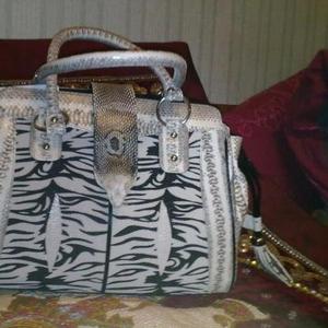 Продается потрясная сумка из  натуральной кожи морского СКАТА