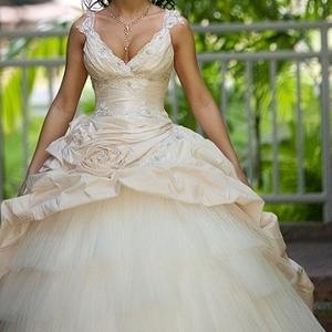 Элитное свадебное платье-трансформер размер 38-42