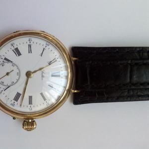 Часы старинные золотые Jalter выпуска 1896 года